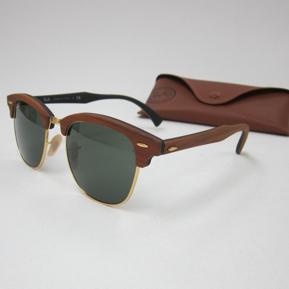 5a350dfd50 RayBan Clubmaster RB 3016-M 1181 Sunglasses OLL804